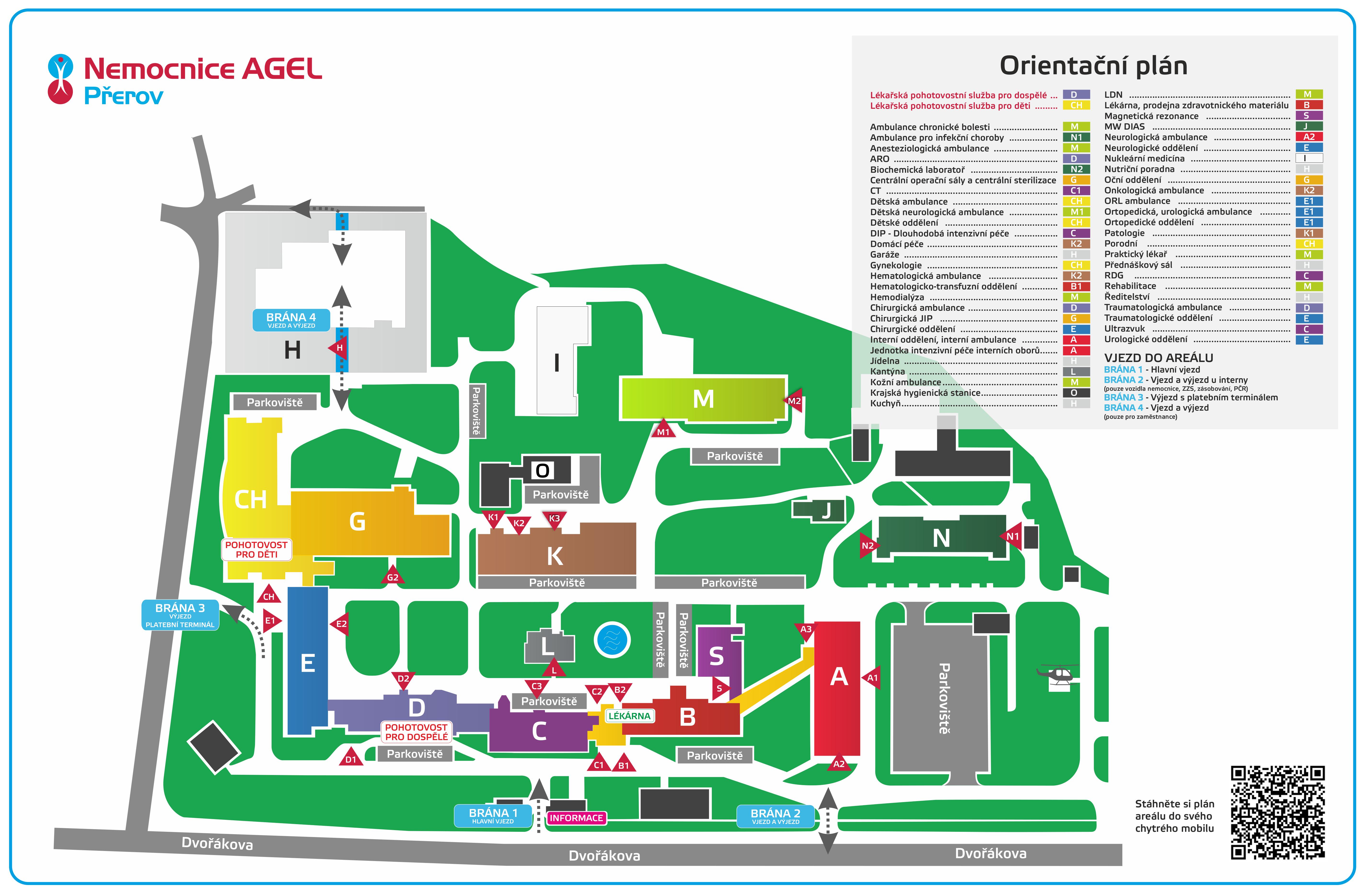 Orientacni Plan Nemocnice Nemocnice Prerov